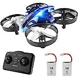 ATOYX Jouets d'intérieur Drone Enfant Hélicoptère Télécommandé Quadcopter avec Mode sans Tête Avion Mini avec Télécommande Jo