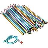 Demarkt Flexibele potloden buigzame flexibele potloden Magic potloden kinderen school uitrusting 30 stuks 18 cm