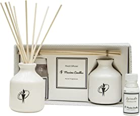 Maxime Candles White Reed Diffuser Home Fragrances Gift Set