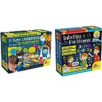 Lisciani Giochi I'M Genius Super Laboratorio Dei Primi 101 Esperimenti, Multicolore, 8 12 Anni, 69330 & Tabelline E…