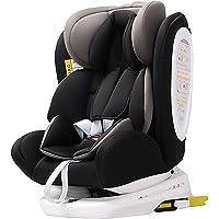 Star Ibaby 906 Silla de Coche Isofix Grupo 0123 - Seggiolino Auto per bambini gruppo 0-36kg, Girevole a 360° e…