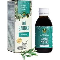 Infusion de sauna bio - infusion de sauna naturelle - huile essentielle de sauna - parfum de sauna naturel - concentré…