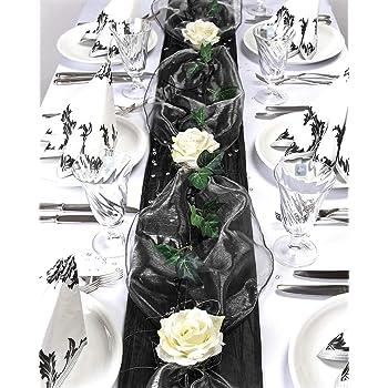 Fibula Style Komplettset Flair Black Grosse S Tischdekoration