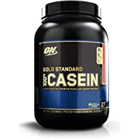 Optimum Nutrition (ON) Gold Standard 100% Casein Protein Powder - 2 lbs, 909 g (Banana)