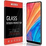 MASCHERI Panzerglas Hartglas Schutzfolie Für Xiaomi Mi Mix 2s / Mi Mix 2 [3 Stück], Gehärtetem Glas [Blasenfrei] [Anti-Kratzer] Displayschutzfolie - Transparent