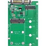 2-in-1 Adattatore M.2 NGFF o mSATA SSD a SATA 3 SATA III Adattatore Adapter Board, Ideale per Recupero di Dati