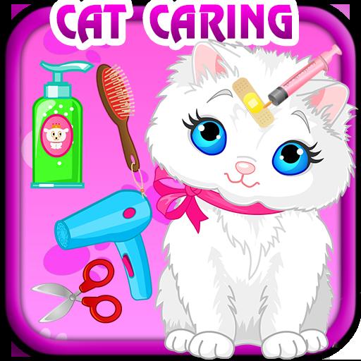 Prenant bain pour votre chat