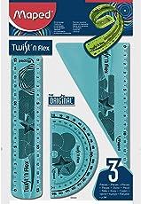 Maped Twist' n Flex Ruler (3pc in 1 pack)