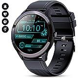 GOKOO Smart Watch Uomo con cardiofrequenzimetro Sleep Monitor Full Touch Screen Impermeabile IP68 Activity Tracker Orologio S