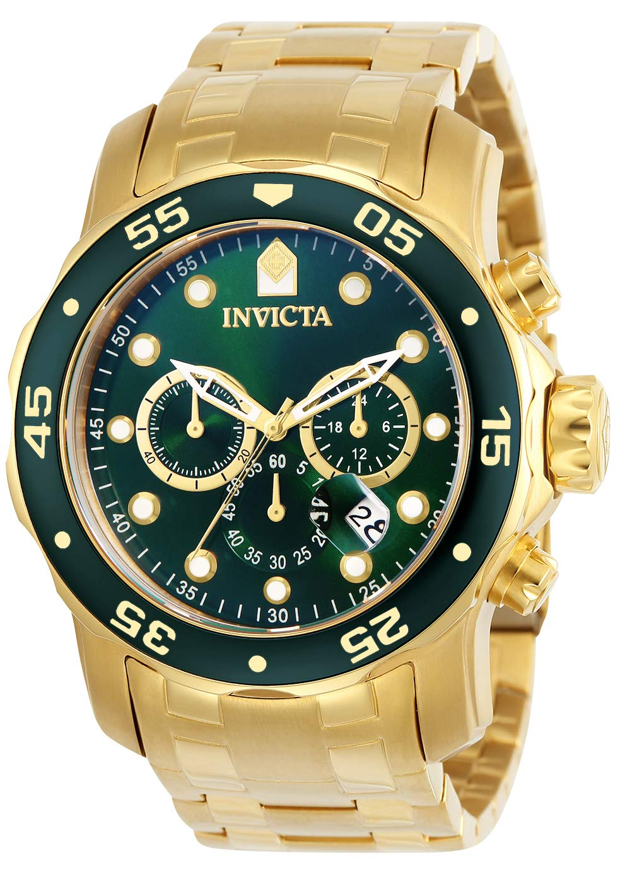 71c256dc3 Inicio / Marcas / Invicta / Invicta 0075 Pro Diver – Scuba Reloj para  Hombre acero inoxidable Cuarzo Esfera verde