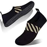 Womens Mens Water Shoes Barefoot Quick Dry Aqua Skin Socks for Beach Swim Pool Yoga