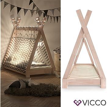 VICCO Kinderbett TIPI Kinderhaus Indianer Zelt Bett Kinder