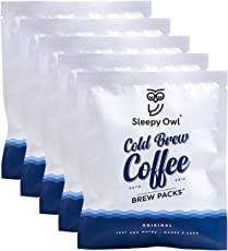 Sleepy Owl Coffee Brew Packs - Original (Pack of 5)