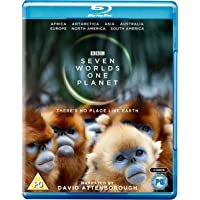 Seven Worlds, One Planet (Uncut) [Blu-ray] (2019) | Imported from UK | 3 Discs | 407 min | Region Free | BBC | Documentary | Narrator: David Attenborough