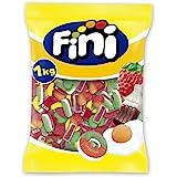 Fini Party Mix, Surtido Golosinas, Gominolas, Sandía, Plátano, Corazón Y Ladrillos Cuches, 1000 Grams