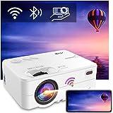 "Beamer WiFi Bluetooth, Artlii Enjoy2 Mini Beamer, Native 1080p Full HD Ondersteund, Home Theater Projector Max 300"" Scherm, M"