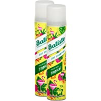 """Batiste, shampoo a secco """"Dry Shampoo"""" con fragranza al cocco e tropicale esotico, per rinfrescare i capelli, per tutti…"""