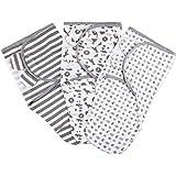 Lictin Gigoteuse d'Emmaillotage - 3Pcs Couvertures d'emmaillotage Bébé Naissance Nourrissons, Couverture Emmaillotage Bebe 0-