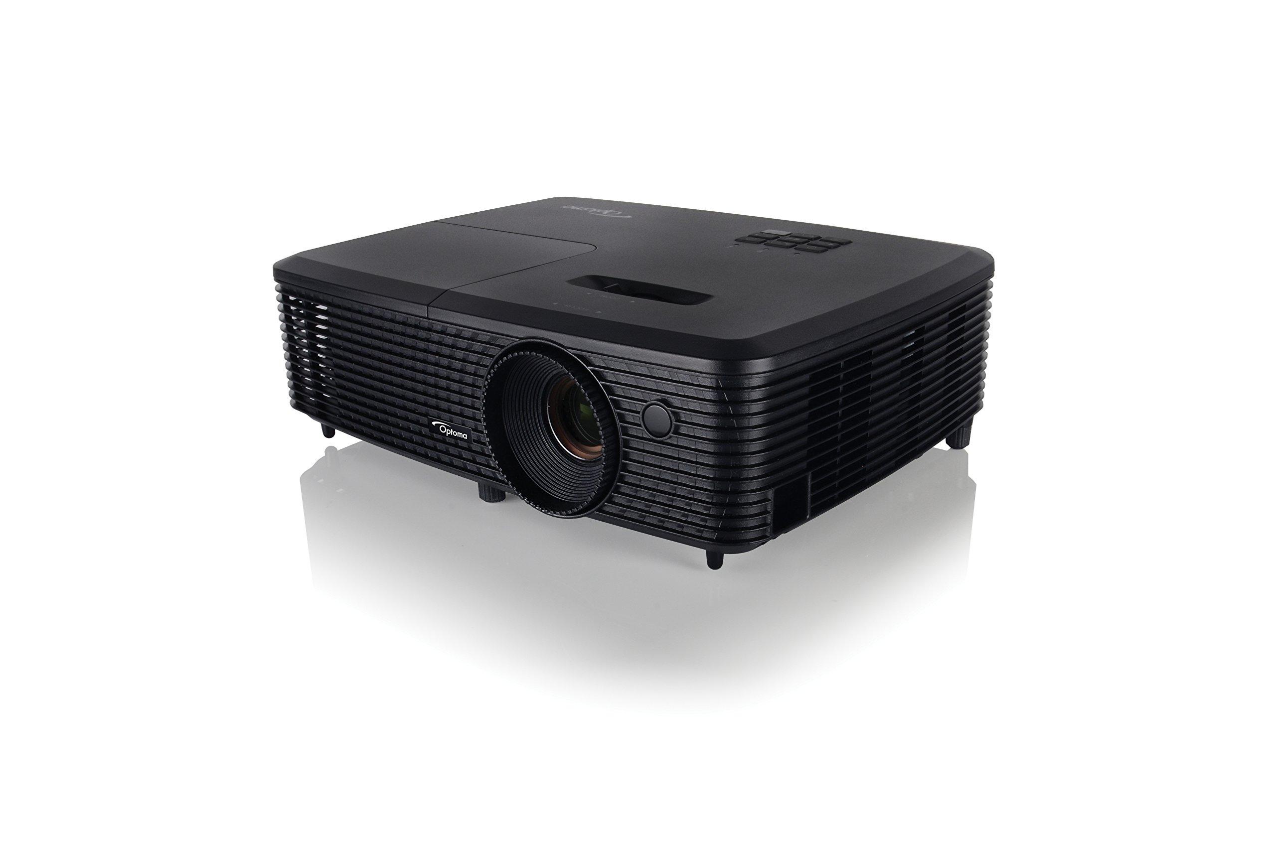 71nbx3cu5LL - Optoma DS348 SVGA DLP HDMI 3000 Lumens Full 3D Projector - Black