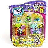 MojiPops Party - Blister Club Room con 4 figuras MojiPops (1 Glitter)