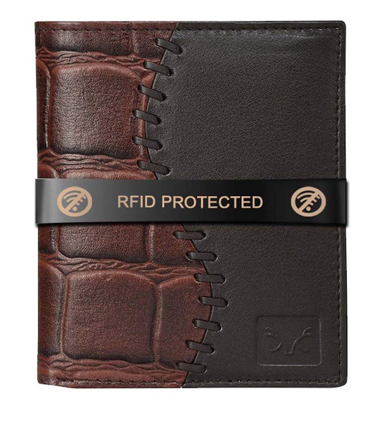 AL FASCINO RFID Leather Wallet/Purse for Men