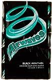 AIRWAVES - Black Menthol - 5 Paquets de 10 dragées  de Chewing-Gum sans sucres
