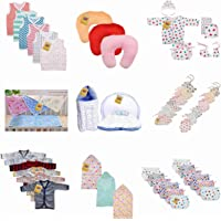 Fareto Baby's Cotton Clothing Combo Pack of 9