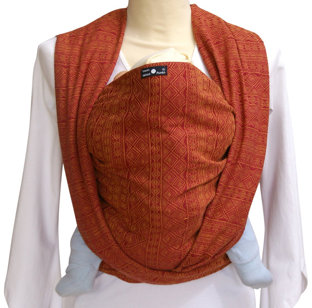Didymos Indio Rubin/ Mandarine Baby Wrap Sling (Size 4) Didymos Various carrying positions, in front, sideways an on the back Special, diagonally stretchable cloth to give optimal support Holds your baby in the atomically correct posture 2