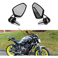 Color : 6mm Screws Motorcycle Mirrors Indicators Rear View Side mirror Racing 6mm//8mm scooter mirrors Thread Dimension Rearview Motorycle Mirror