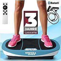 Miweba Sports Fitness 3D Vibrationsplatte MV200-3 Jahre Garantie - 3 Vibrationsmodi - Horizontal - Vertikal…