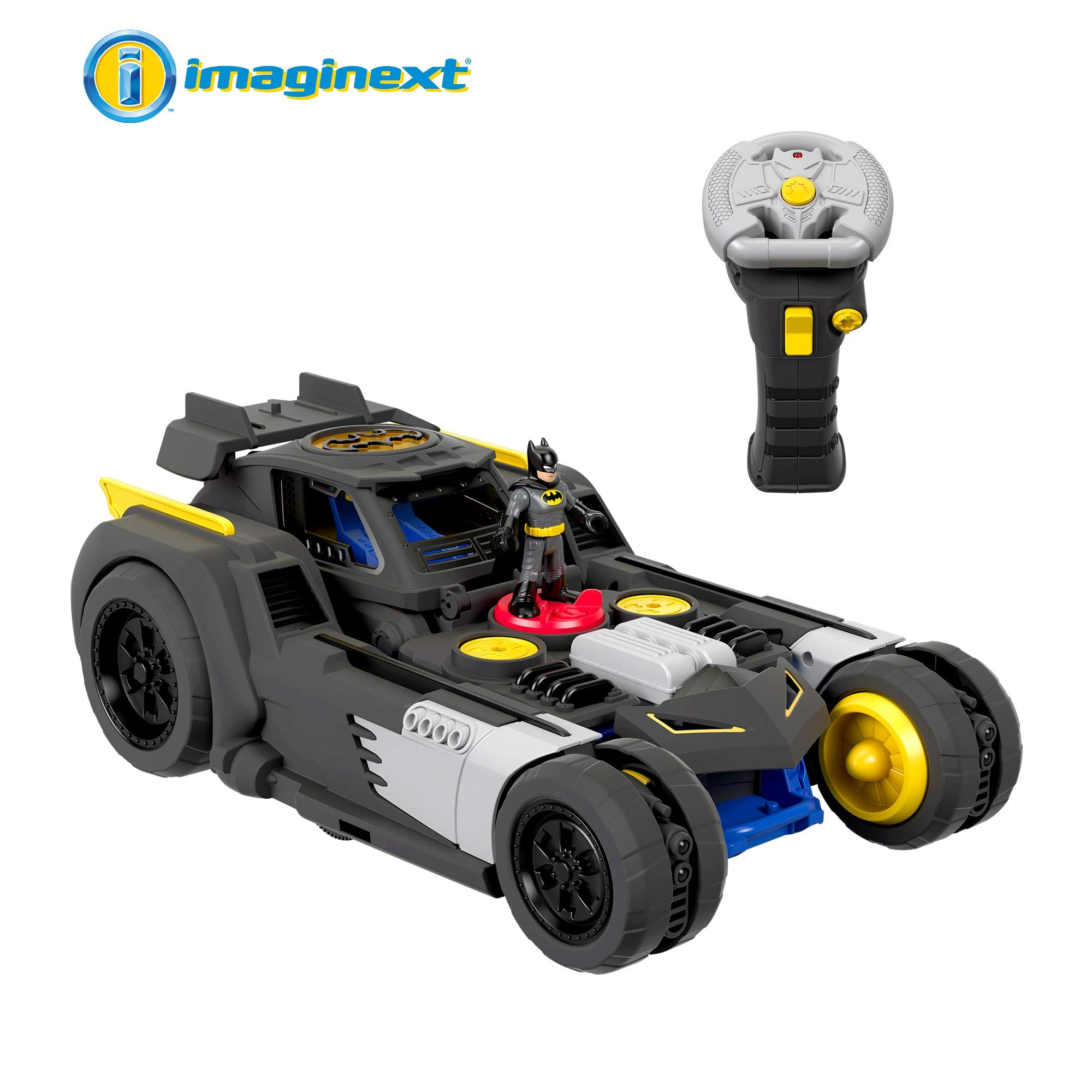 Fisher-Price-GBK77-Imaginext-DC-Super-Friends-Transforming-Batmobile-RC-Vehicle-Multicoloured