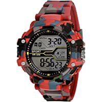 SWADESI STUFF Digital Boy's Watch (Multicolored Dial, Multicolored Strap)