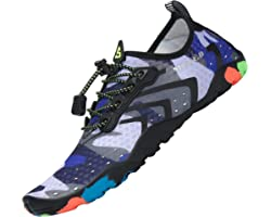 Tmaza Mens Womens Quick Drying Breathable Water Shoes, Gr.35-48