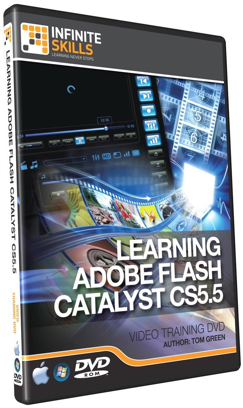 Infinite Skills Learning Adobe Flash Catalyst CS5.5 Training DVD (PC/Mac) [Versione inglese]
