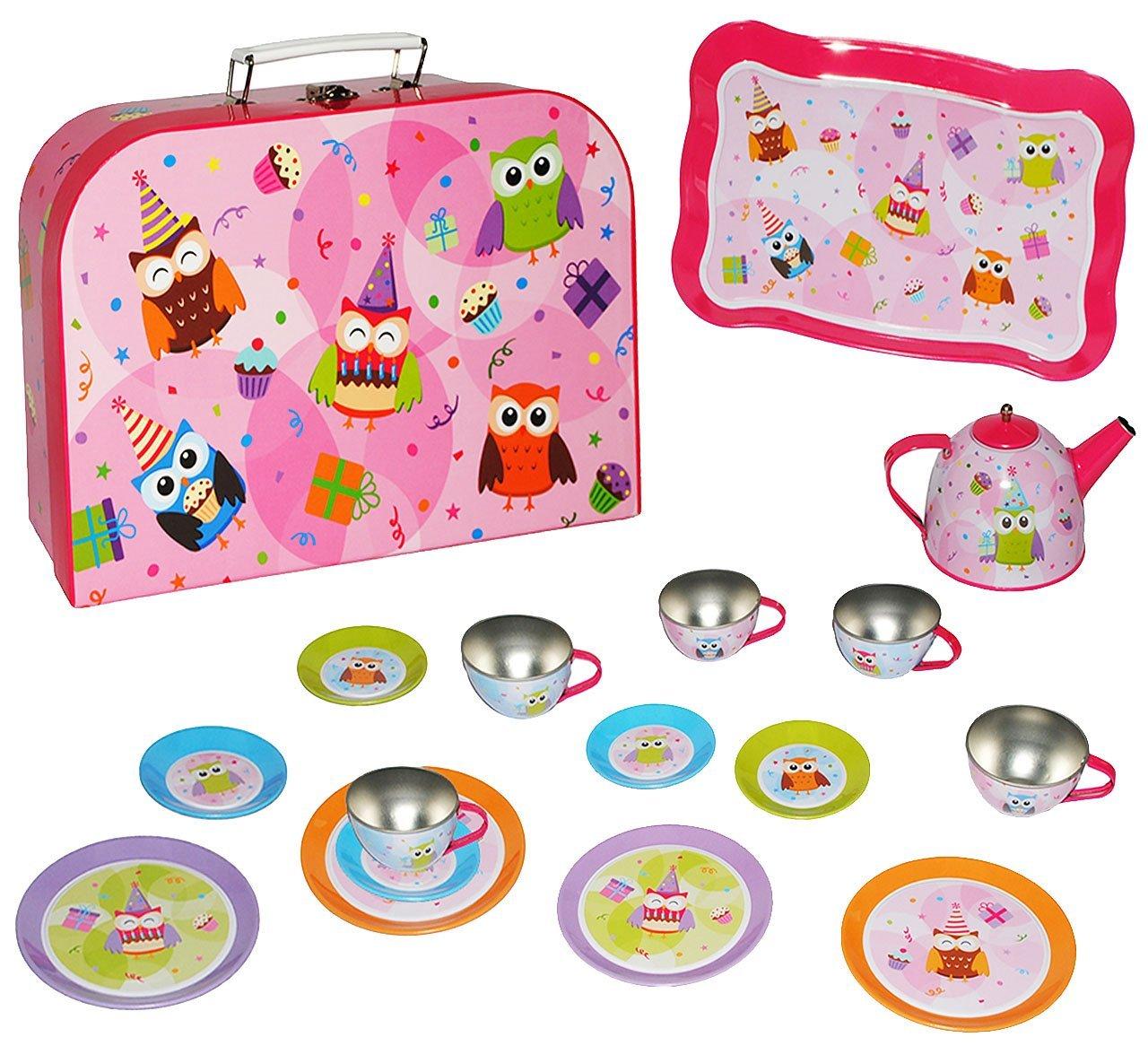 Namen   Mit Metall U0026 Blech Geschirr   Spiel Küche   Zubehör Koffer    Picknickkorb Für Kinder Mädchen Puppengeschirr ...