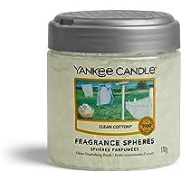 Yankee Candle sphères parfumées désodorisant maison, Durée jusqu'à 30jours, Clean Coton
