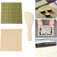 Jixista Kit Sushi Kit de Fabrication de Sushis en Bambou Sushi en Bambou Faisant Set fête de la Famille Office Homemade…