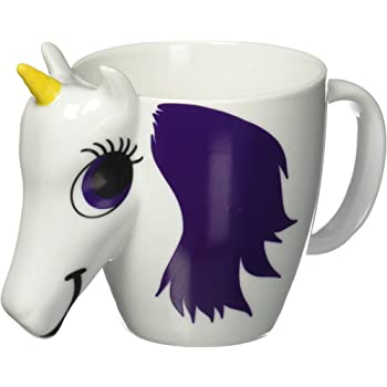 Thumbs Up Colour Changing Unicorn Mug Multi Colour Amazoncouk