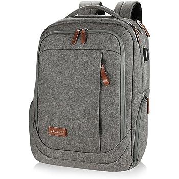 6057ec1f142d KROSER Laptop Backpack 17.3 Inch Large Computer Backpack School Backpack  Casual Daypack Water-Repellent Laptop Bag with USB Charging Port for ...