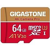 Gigastone 64GB Tarjeta de Memoria Micro SD, grabación de Video 4K, 4K Camera Pro, Compatible con Nintendo Switch, Máx. 95/35M