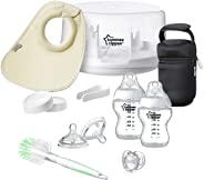 Tommee Tippee Closer To Nature Electric Steam Baby Bottle Sterilizer Bpa Free White, TT42320010
