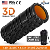 Dr Trust (USA) Long Acupressure Foam Roller For Deep Tissue Muscle Massage Exercise Fitness and pain relief Equipment