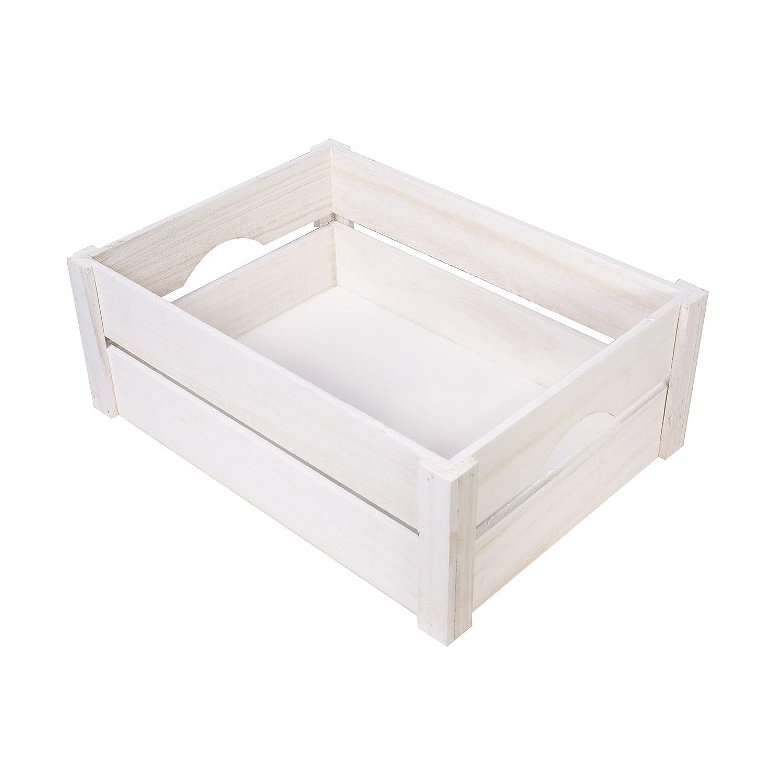 White wooden apple crates display plants fruits storage easter white wooden apple crates display plants fruits storage easter gift hamper medium amazon diy tools negle Choice Image