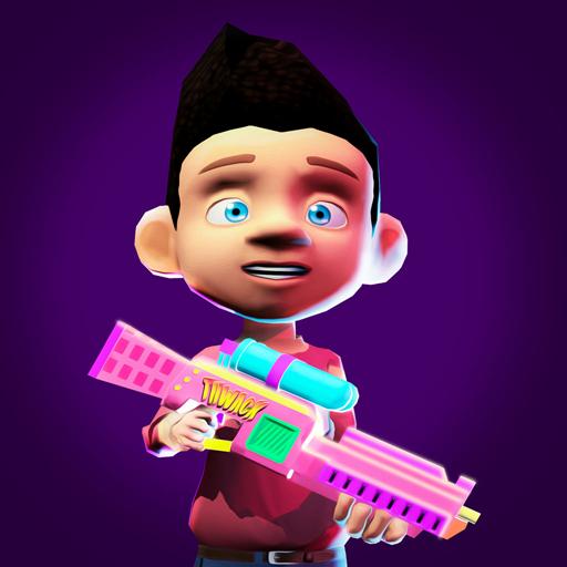 juegos de airsoft paintball arena: juegos de disparos de paintball nurf toy gun battle