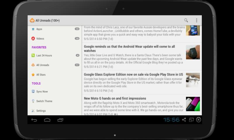 G Tablet Update 2014