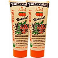 ADS NATURAL APRICOT SCRUB 212g Pack of 2 Free Liner & Rubber Band -PHSP