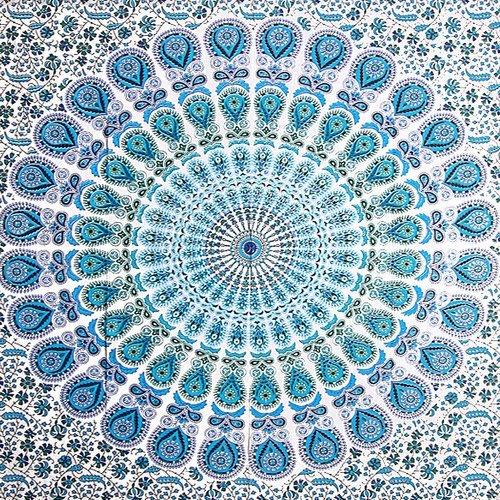 FUTURE HANDMADE Manta decorativa hecha mano India
