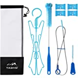 TAGVO Hydration Bladder Cleaning Kit for Universal Water Reservoir, 4 in 1 Cleaner Set-Flexible Long Brush for Hose…
