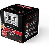 Bialetti Caffè d'Italia Roma con Gusto Intenso Compatibili con Macchine Espresso Bialetti, 128 Capsule