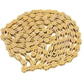 Bicycle Chain, Ultralight 116 Links 9 Speed Bike Chain for Road & Mountain Bikes Cycling Part Accessory